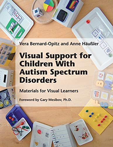 9781934575826: Visual Support for Children with Autism Spectrum Disorders: Materials for Visual Learners