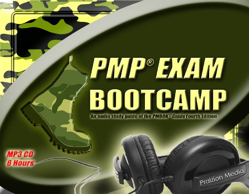 9781934579961: PMP Exam Bootcamp (PMP Exam Prep Study, PMBOK Guide) 6 hour MP3 Edition