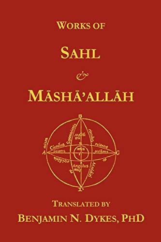 Works of Sahl Mashaallah: Sahl ibn Bishr