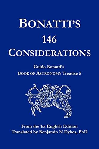 9781934586075: Bonatti's 146 Considerations
