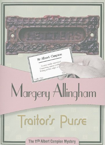 9781934609422: Traitor's Purse (Albert Campion Mystery)