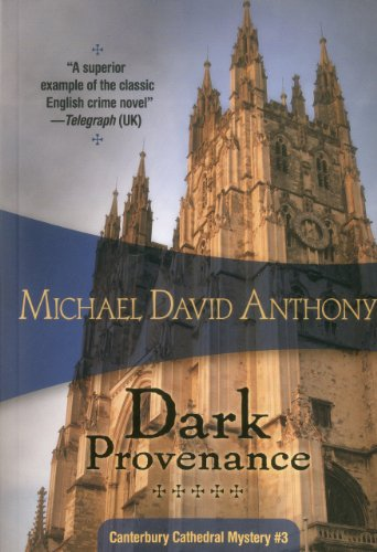 9781934609835: Dark Provenance (Canterbury Cathedral Mysteries)