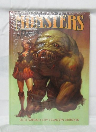Emerald City Comicon 2010 Monsters and Dames Art Book