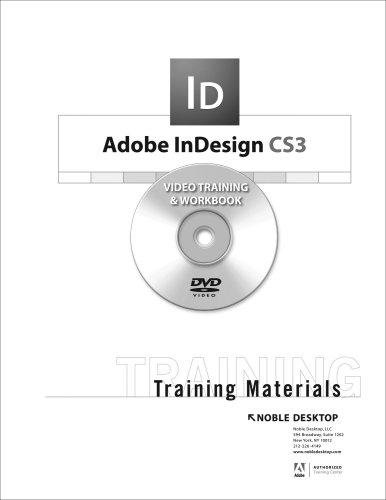 9781934624036: Adobe InDesign CS3 Training DVD
