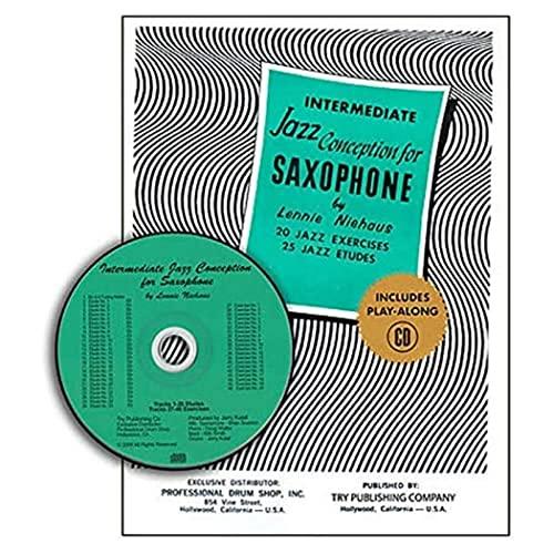9781934638026: TRY1059 - Intermediate Jazz Conception Saxophone - 20 Jazz Exercises 25 Jazz Etudes - Book/CD