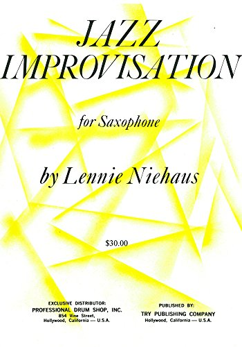TRY1062 - Jazz Improvisation for Saxophone: Lennie Niehaus
