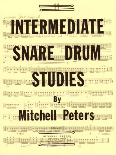 9781934638194: TRY1064 - Intermediate Snare Drum Studies by Mitchell Peters (1976-01-01)