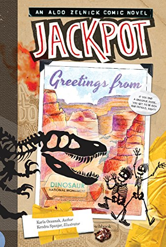 Jackpot (The Aldo Zelnick Comic Novel Series): Oceanak, Karla