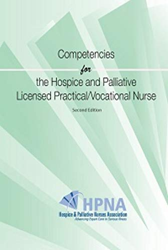 9781934654125: Hospice and Palliative Nursing Assistant Competencies