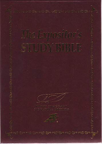 9781934655481: The Expositor's Study Bible