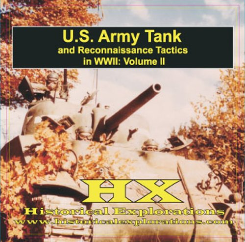 9781934662090: Tank and Reconnaissance Tactics in WWII (US Army)