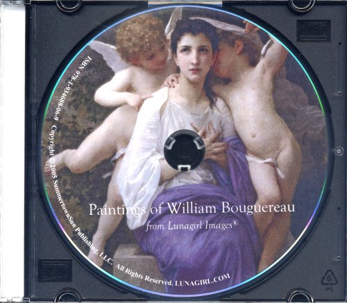 9781934688069: The Paintings of William Bouguereau - 220 gorgeous hi-resolution Printable images of women, girls, nudes, cherubs by a true Victorian master. (Lunagirl Images Fine Art and Illustration Series)