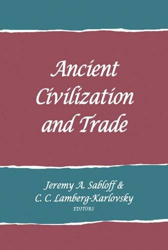 9781934691984: Ancient Civilization and Trade (School for Advanced Research Advanced Seminar Series)
