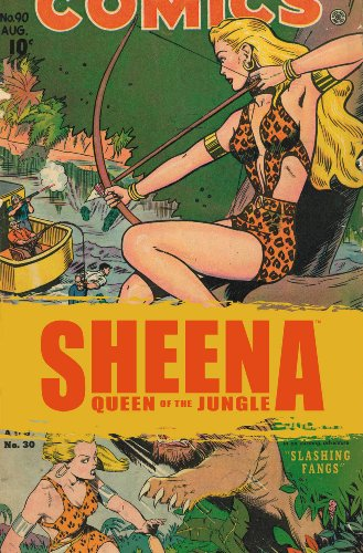 Golden Age Sheena: The Best Of The Queen Of The Jungle: Eisner/Iger Studios