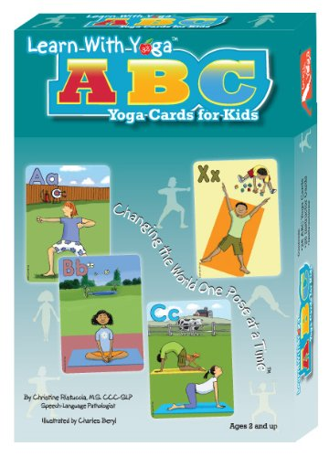 9781934701072: Learn With Yoga ABC Yoga Cards for Kids (Yoga Cards)