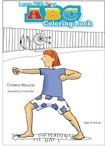 9781934701140: Learn With Yoga ABC Coloring Book