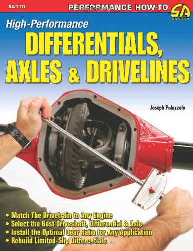 9781934709023: High-performance Differentials, Axles and Drivelines
