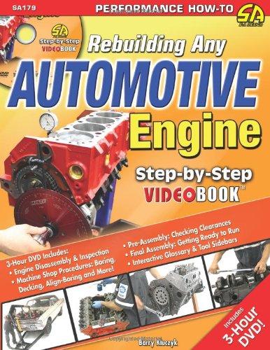 Rebuilding Any Automotive Engine Step-by-Step Videobook (Step-By-Step: Barry Kluczyk