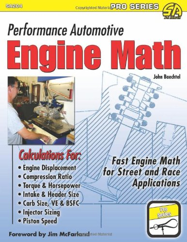 9781934709474: Performance Automotive Engine Math (Sa Design-Pro)