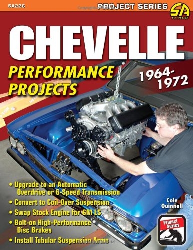 9781934709795: Chevelle Performance Projects: 1964-1972