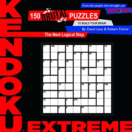 9781934734186: Kendoku: Extreme: 150 Brutal Puzzles to Build Your Brain