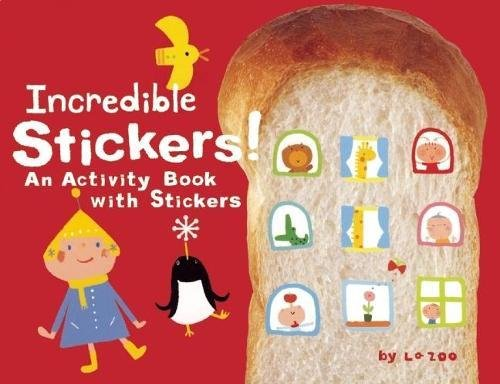 Incredible Stickers!: An Activity Book with Stickers: La ZOO, Robert