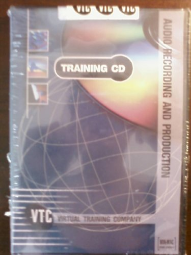 9781934743201: Audio Recording and Production VTC Training CD