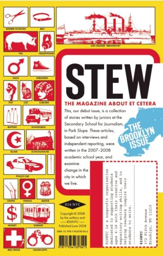 STEW Vol. 1 No. 1 The Magazine About Et Cetera: Joan Kim and Seth Mnookin, editors