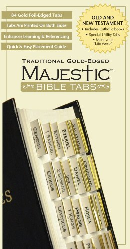 9781934770139: Majestic Traditional Gold-Edged Tabs