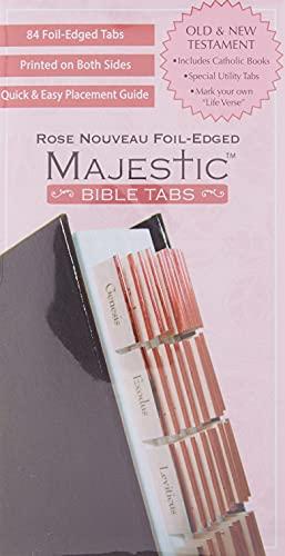 9781934770986: Majestic Rose Nouveau Bible Tabs