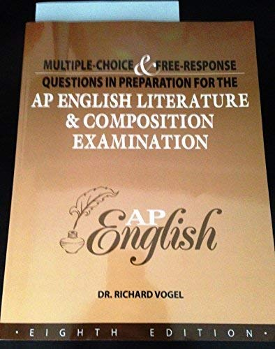 MULTIPLE CHOICE+.F/AP ENGLIS: Dr. Richard Vogel