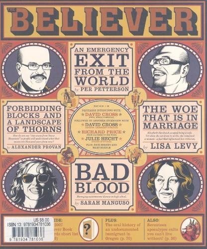 9781934781036: 6-4: The Believer, Issue 53: May 2008 Vol. 6, No.4