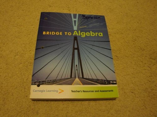 9781934800041: Bridge to Algebra; Teacher's Resources and Assessments