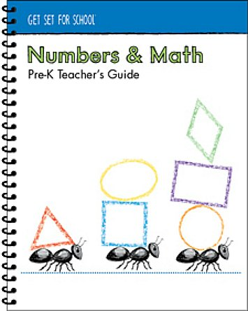 9781934825327: Numbers and Math Pre-K Teacher's Guide