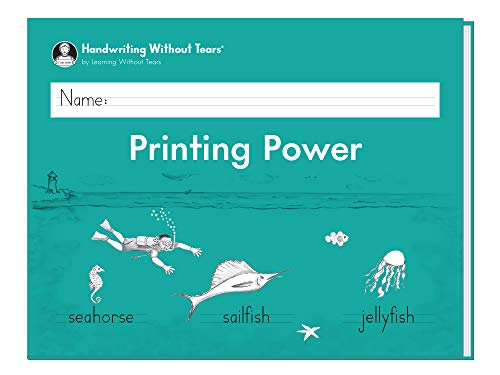 9781934825624: Handwriting Without Tears Printing Power Grade 2 (2013)