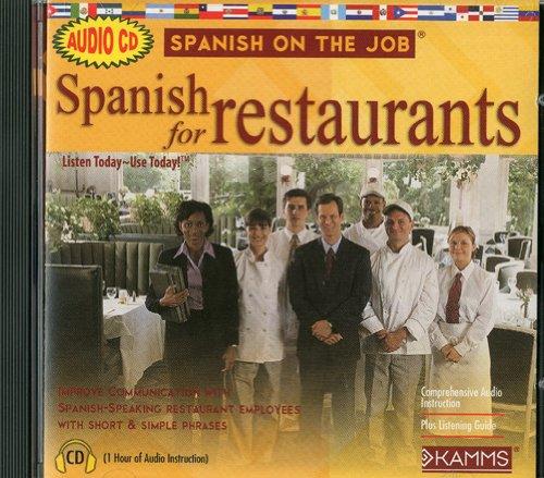 9781934842256: Spanish for Restaurants (Spanish on the Job)