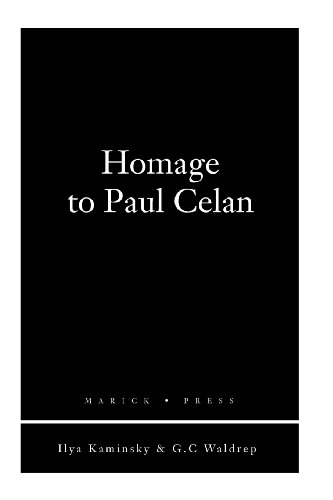 9781934851357: Homage to Paul Celan