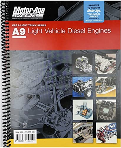 9781934855102: A9 Light Vehicle Diesel Engines : Motor Age Training Self-Study Guides for ASE Certification