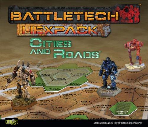 9781934857502: Battletech HexPack Cities & Roads