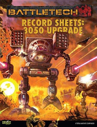 9781934857519: Battletech Record Sheet 3050 Upgrade *OP
