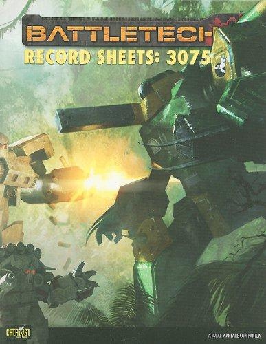 9781934857526: Battletech Record Sheets 3075 (Battletech (Unnumbered))