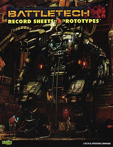 9781934857878: Battletech: Record Sheets Prototypes