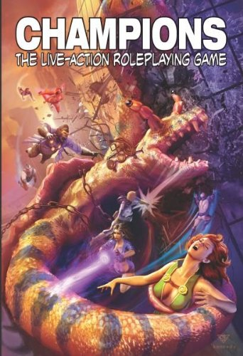 9781934859421: Champions Live Action Roleplaying Game