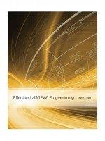 9781934891087: Effective Labview Programming