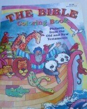 9781934911587: The Bible Coloring Book with Pictures From the Old and New Testaments