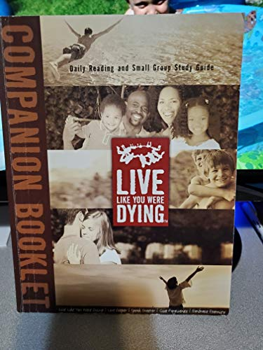 9781934917008: Live Like You Were Dying (Companion Booklet)