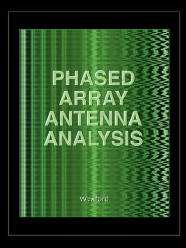 9781934939079: Phased Array Antenna Analysis (Computational Electromagnetics)