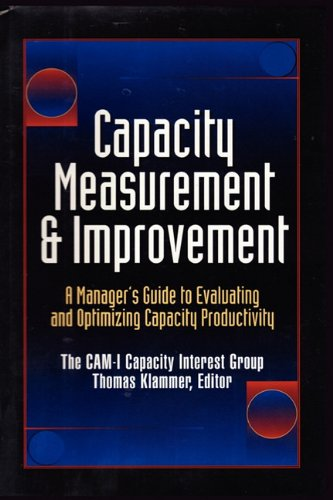 CAPACITY MEASUREMENT & IMPROVEMENT: CAM-I