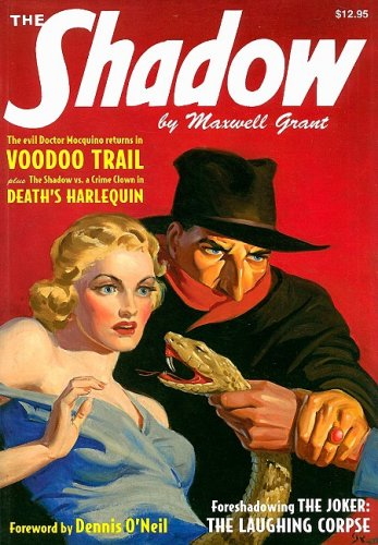 9781934943038: Voodoo Trail & Death's Harlequin (The Shadow)