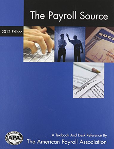 9781934951484: 2012 The Payroll Source